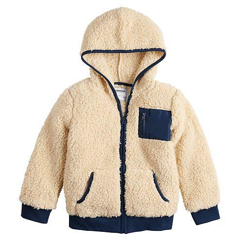 Boys 4-12 SONOMA Goods for Life™ Sherpa Full Zip