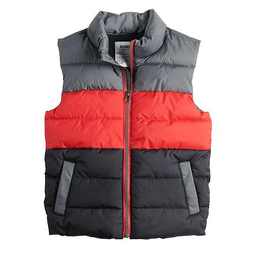 Boys 4-12 SONOMA Goods for Life™ Woven Puffer Vest
