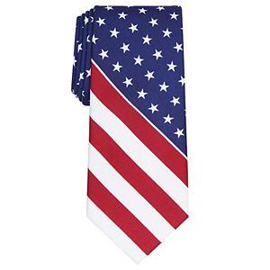 Men's Land of Liberty American Flag Tie