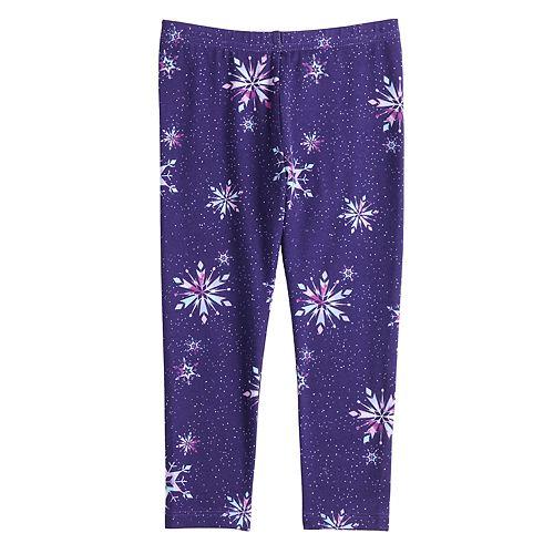 Disney's Frozen Elsa Toddler Girl Snowflake Leggings by Jumping Beans®