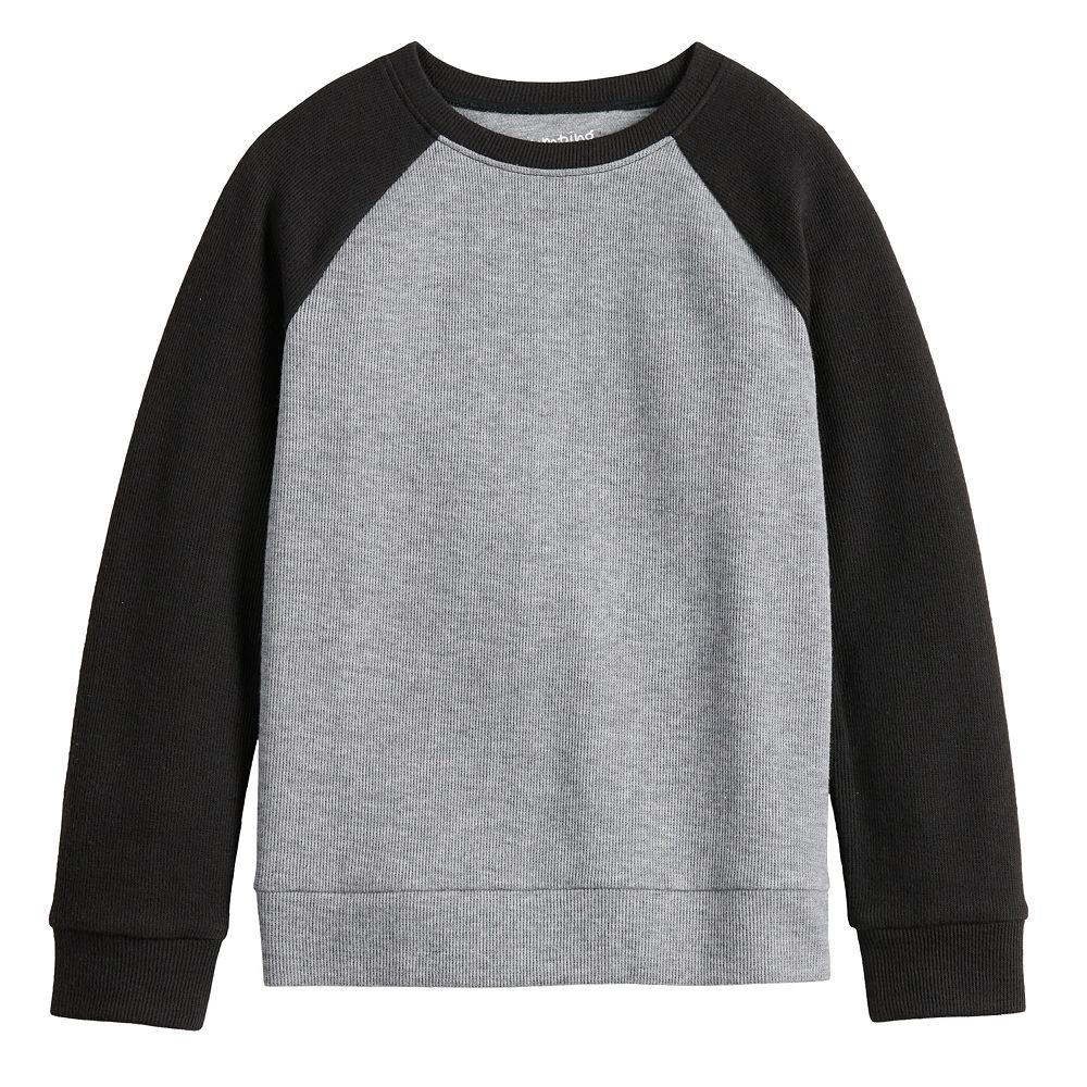 Boys 4-12 Jumping Beans® Colorblock Raglan Pullover