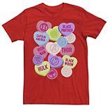 Men's Marvel Candy Heart Hero Icons Short Sleeve Tee