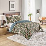 Vue Elle Flamingo Reversible Quilt Set