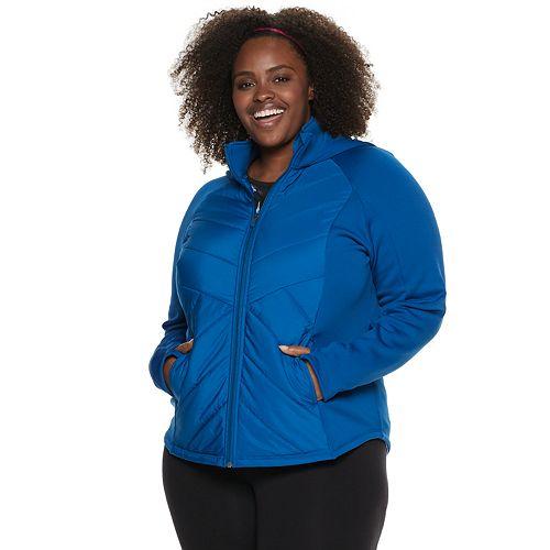 Plus Size Tek Gear® Mixed Media Jacket