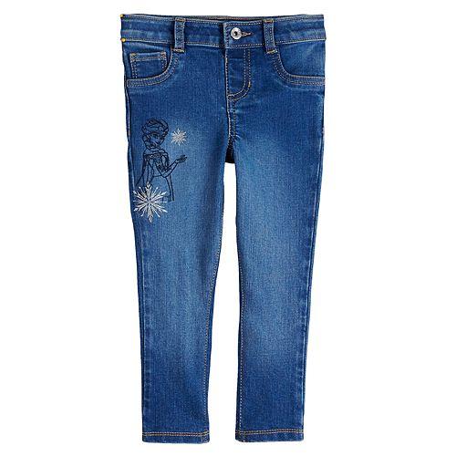 Disney's Frozen 2 Elsa Toddler Girl Skinny Jeans by Jumping Beans®