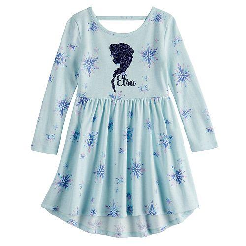 Disney's Frozen Elsa Toddler Girl Print Skater Dress by Jumping Beans®
