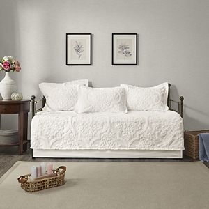 Madison Park Aeriela 5-piece Tufted Cotton Chenille Daybed Set
