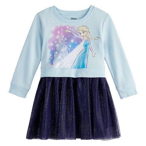 Disney's Frozen 2 Toddler Girl Sweatshirt Tulle Dress by Jumping Beans®