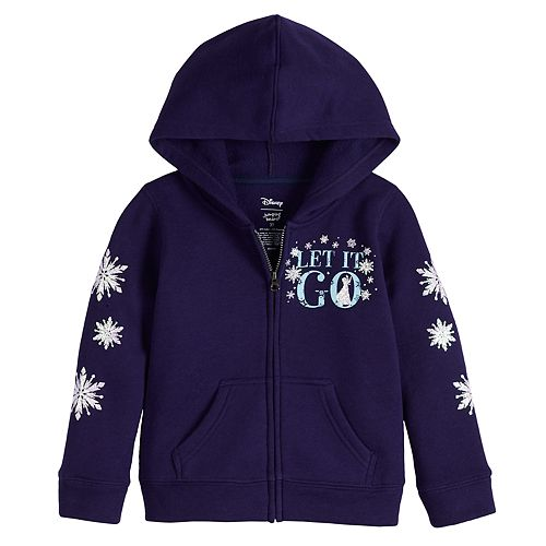 "Disney's Frozen 2 Toddler Girl ""Let It Go"" Fleece Hoodie by Jumping Beans®"