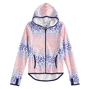 Girls' 7-16 SO® Micro Fleece Full Zip Hoodie