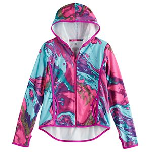 Girls' 7-16 SO® Micro Fleece Full Zip Hoodie