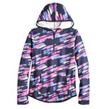 Girls 7-16 & Plus Size SO® Micro Fleece Quarter-Zip Hoodie