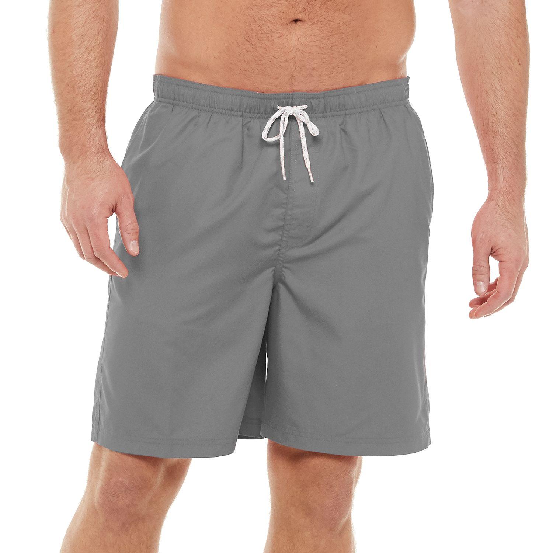 kohls mens swim trunks