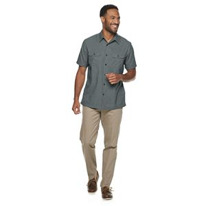 Men's Croft & Barrow® Relaxed-Fit Breathable Button-Down Shirt
