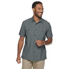 L Khaki Goodyear Fashion Herren New Castle Bermudas