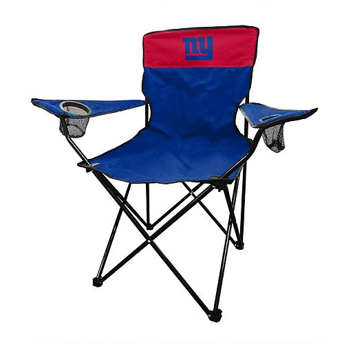 Superb New York Giants Legacy Folding Camping Chair Ocoug Best Dining Table And Chair Ideas Images Ocougorg
