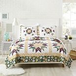 Makers Collective Bonnie Christine Foraged Floral Quilt Set