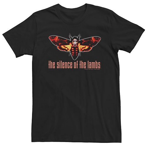 Men's Silence Of The Lambs Moth Logo Tee