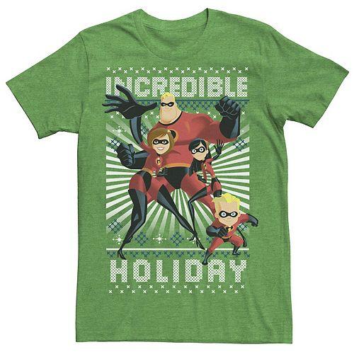 Men's Disney Pixar Incredibles Holiday Tee