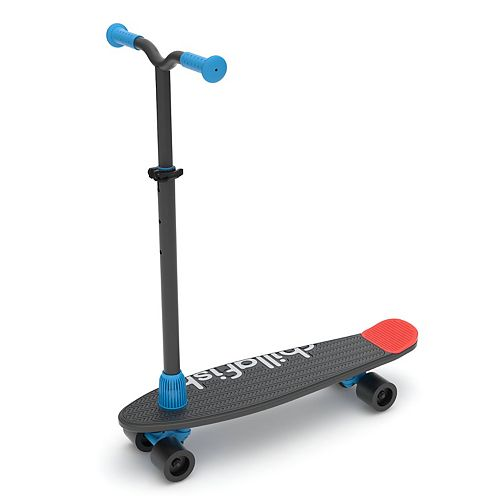 Chillafish SkatieSkootie Four-Wheeled Customizable Scooter and Skateboard in One
