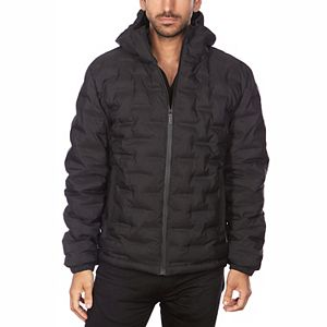 Men's Avalanche Hooded Quilted Active Ski Jacket