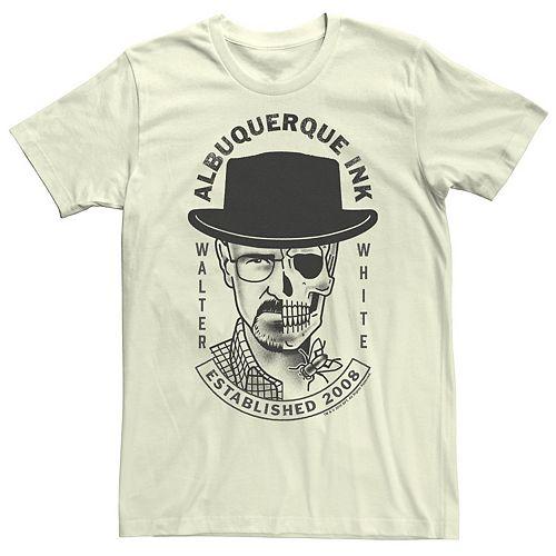 Men's Breaking Bad Albuquerque Ink Walter Logo Tee