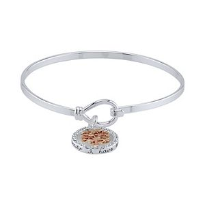 Brilliance Family Forever Bangle With Swarovski Crystals