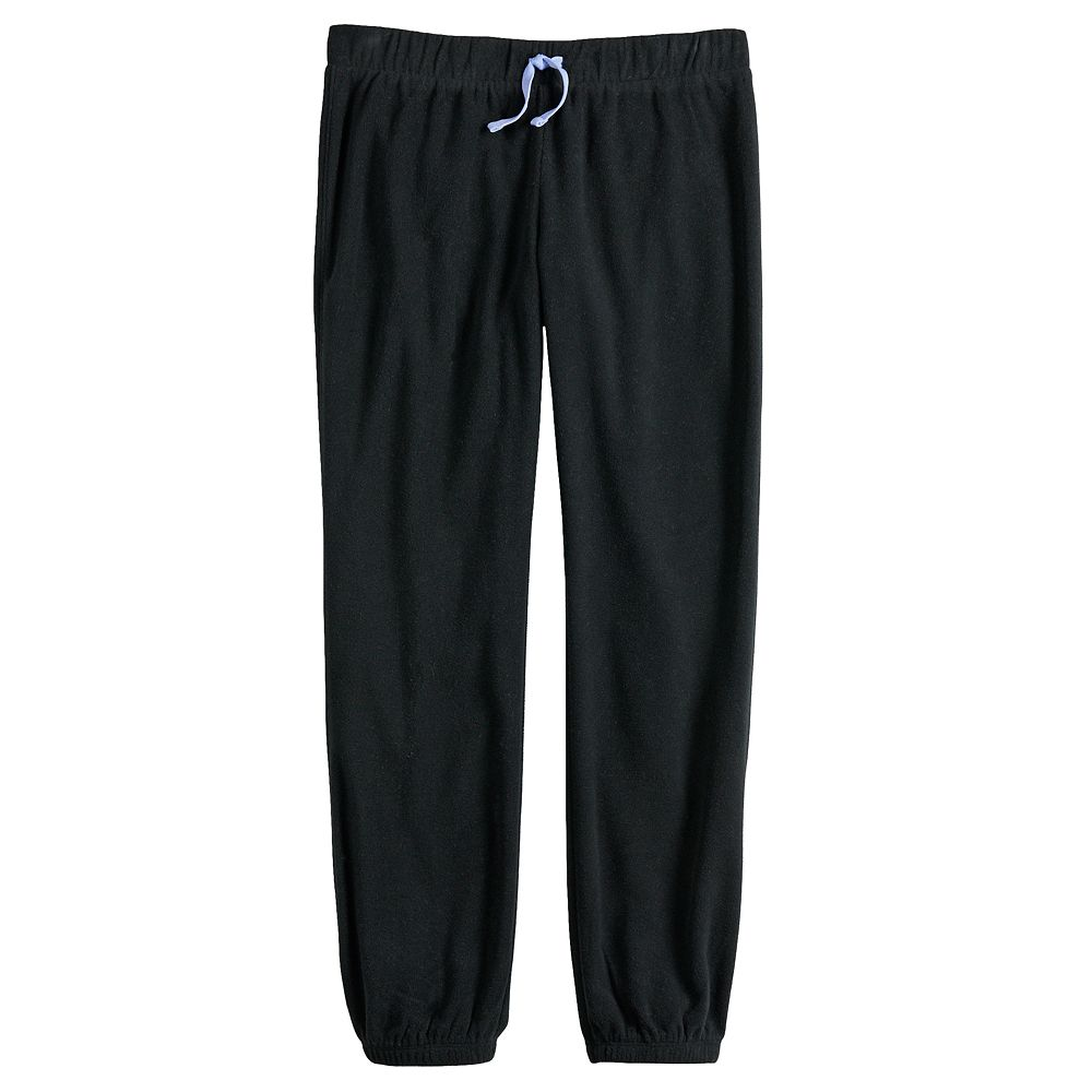 Girls' 7-16 SO® Microfleece Joggers