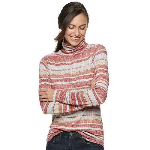 Petite SONOMA Goods for Life® Textured Turtleneck
