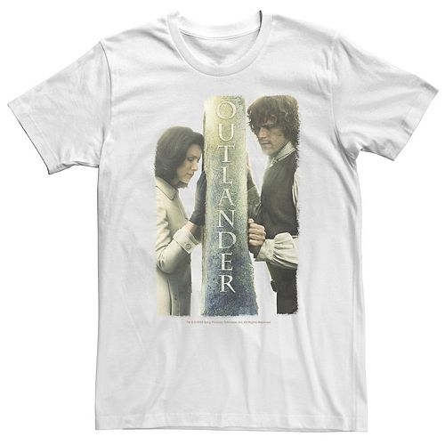 Men's Outlander Claire And Jamie Outlander Barrier Tee