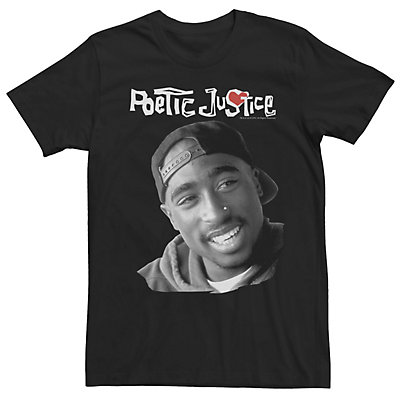 Men's Poetic Justice Lucky Smiling Logo Tee