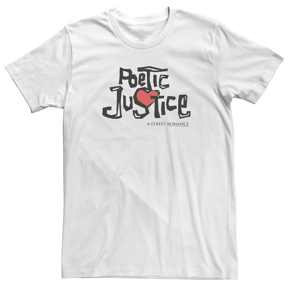 Men's Poetic Justice Logo Tee