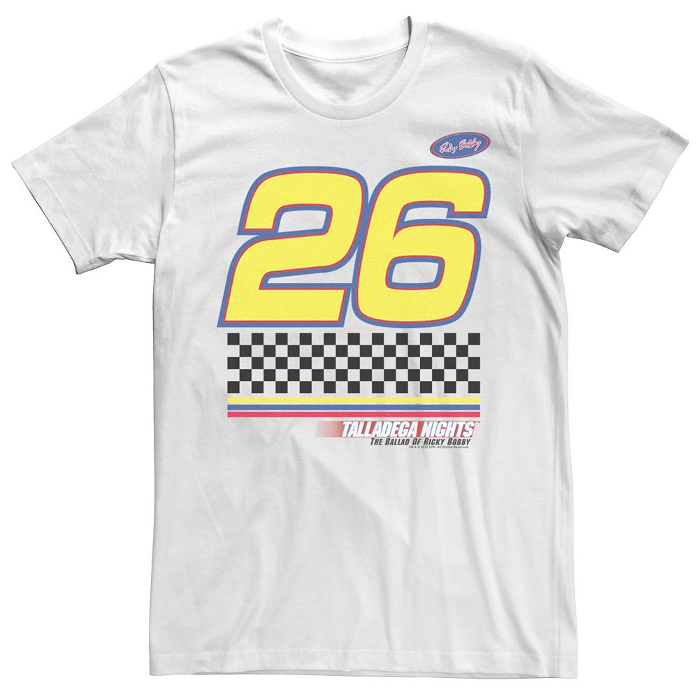 Men's Talladega Nights #26 Racing Patch Logo Tee