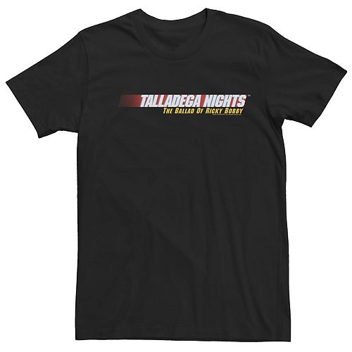Men's Talladega Nights The Ballad Of Ricky Bobby Movie Logo Tee