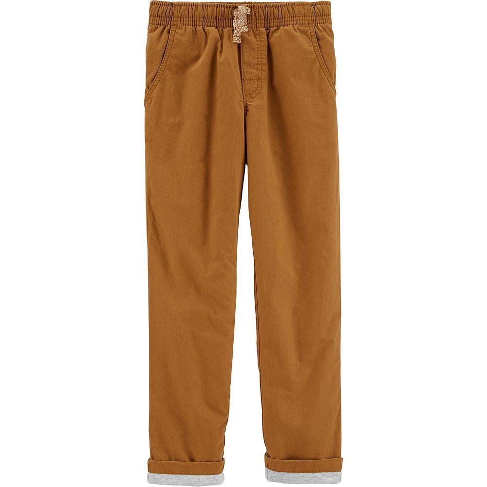 Boys 4-14 Carter's Pull-On Poplin Play Pants