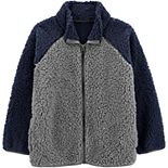 Boys 4-14 Carter's Zip-Up Sherpa Midweight Jacket