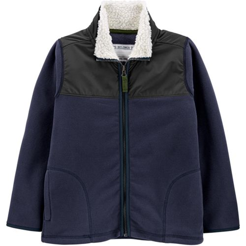 Boys 4-14 Carter's Fleece Zip Heavyweight Jacket