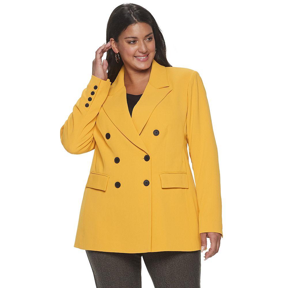 Plus Size Apt. 9® + Cara Santana Menswear Blazer
