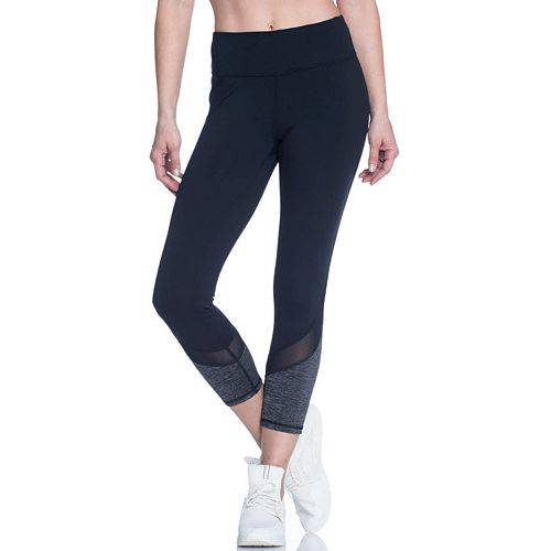 Women's Gaiam Om Mesh Capri Yoga Leggings