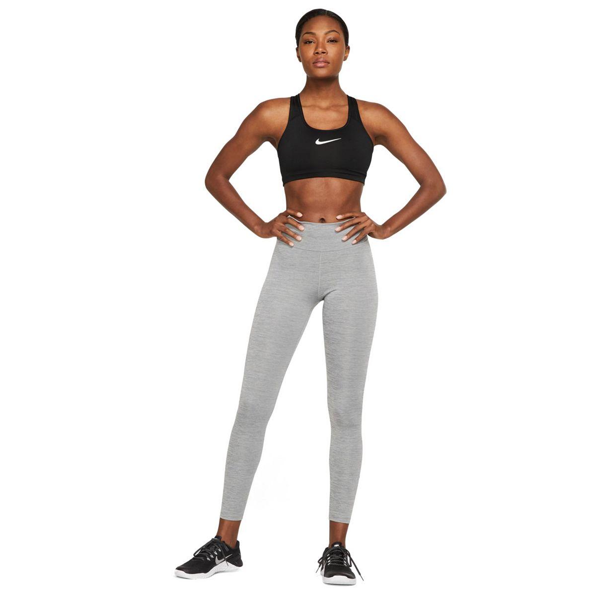 Women's Nike One Midrise Leggings Black White g6g5j