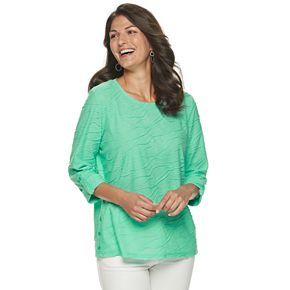 Women's Cathy Daniels Wavy Tunic