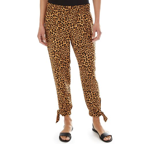 Women's Apt. 9® Challis Pull-On Ankle Pants