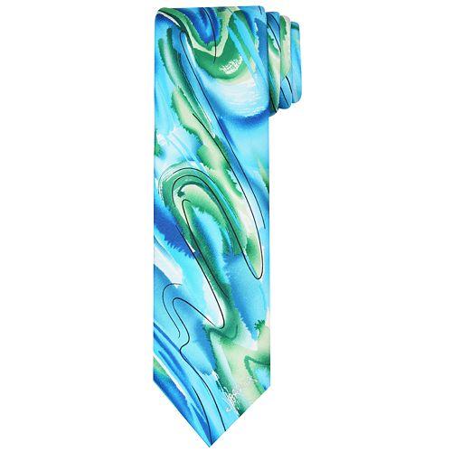 Men's Jerry Garcia Patterned Silk Tie
