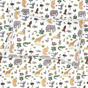 1500 Supreme Kids Wild Kingdom Sheet Set