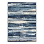 Scott Living Basic Painterly Stripe Area and Accent Rug