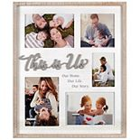 "Malden ""This is Us"" Collage Picture Frame"