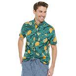 Men's SONOMA Goods for Life® Printed Poplin Button-Down Shirt