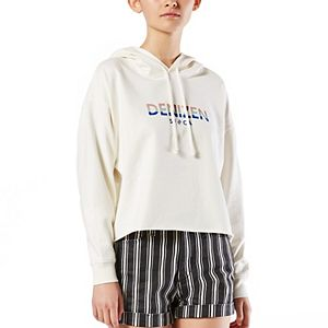 Juniors' DENIZEN from Levi's® Crop Hoodie