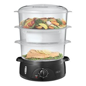 Bella 9.5-qt. 3-Tier Food Steamer