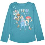 "Disney / Pixar Toy Story Toddler Girl ""Friends Forever"" Graphic Tee by Jumping Beans®"